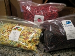 Dehydrated Veggies and Fruit